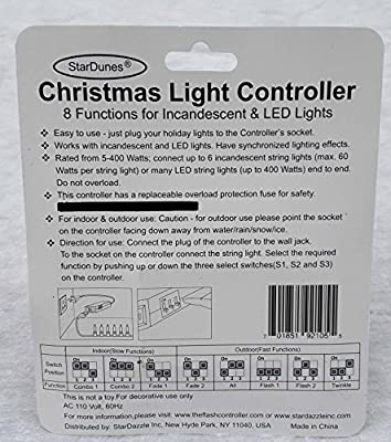StarDunes Christmas Light Controller