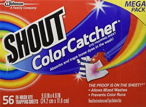SHOUT TRAPPING SHEETS COLOR CATCHER
