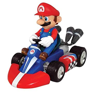 super mario mario kart pull back racers amazon co uk toys games
