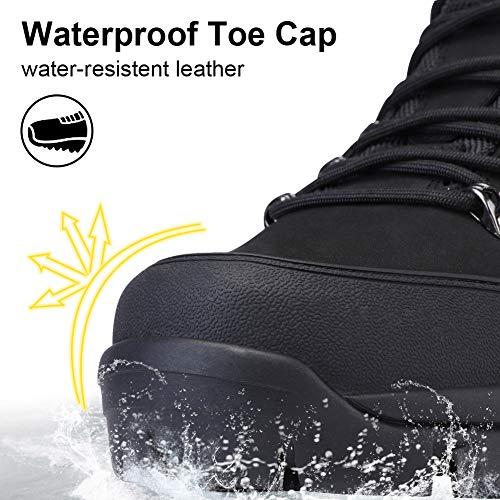 Hombre Camel Botas Negro Cordones Impermeable 47 Deporte Zapatos De Puntera Con Crown Senderismo 41 Para FRSUHZqR