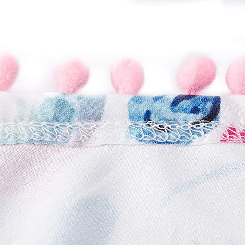 UNICOMIDEA Newborn Toddler Baby Girl Tassel Romper Bodysuit Floral Sleeveless Jumpsuit Outfit Set Match Headband