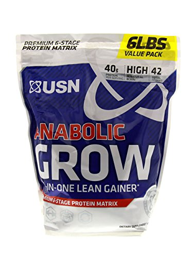 USN Supplements Anabolic Grow All In One Lean Gainer, Cho...