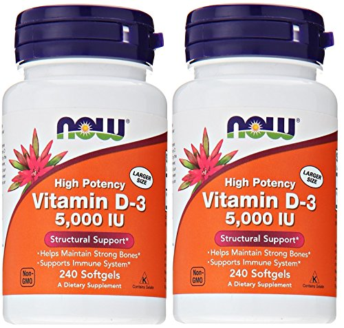 NOW Foods Vitamin softgels Pack