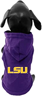 product image for NCAA Louisiana State Tigers Collegiate Cotton Lycra Hooded Dog Shirt