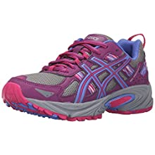 ASICS Women's Gel-Venture 5 Trail Runner, Phlox/Sport Pink/Aluminum, 7.5 M US