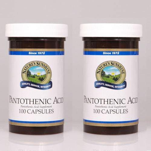 Acide pantothénique 250 mg,