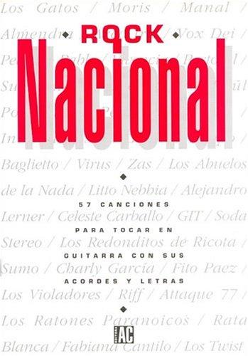 ROCK NACIONAL 57 Canc./para guitarra: Amazon.es: AC: Libros
