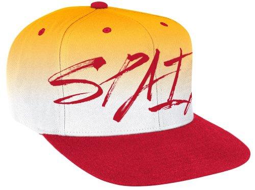 Spain 2014 World Cup Soccer Adidas Flat Brim Script Adjustable Snap Back Hat