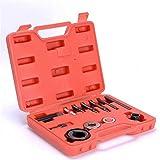 12pc Pulley Puller Remover & Installer Tool Kit Power Steering Pump Alternator Pulley