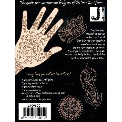 Jacquard Mehndi Henna Kit Amazon In Beauty
