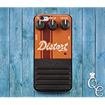 *BoutiqueHouse* iPhone 4 4s 5 5s 5c SE 6 6s plus iPod Touch 4th 5th 6th Generation Cute Custom Distortion Pedal Box Orange Rock Band Music Guitar Cover Case(Samsung Galaxy S6 Edge Plus)