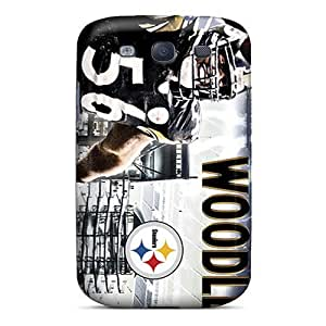 PhilHolmes Samsung Galaxy S3 Scratch Protection Phone Cases Unique Design Beautiful Pittsburgh Steelers Series [hvz16136xIPw]