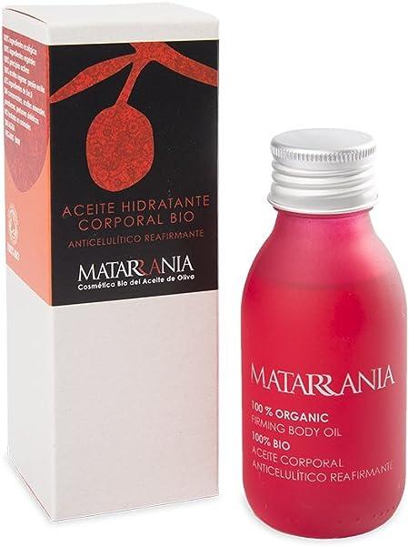 Matarrania - Aceite Anticelulítico Reafirmante Bio Matarrania, 100ml: Amazon.es: Belleza