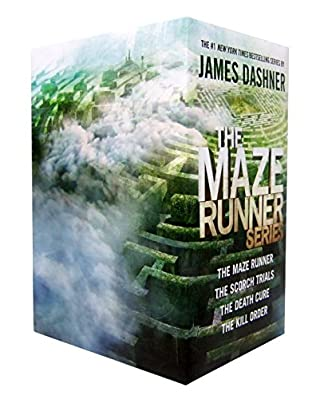 book cover of The Maze Runner