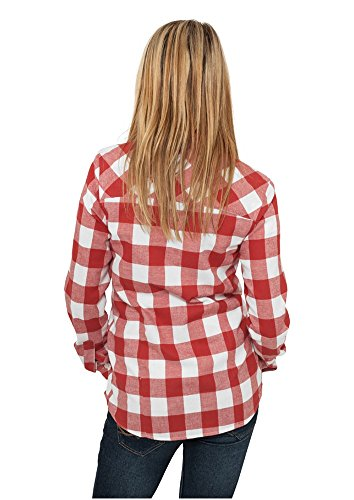 Chemise Classics Red Ladies Flanell Shirt Femme Urban Checked BXwFBx