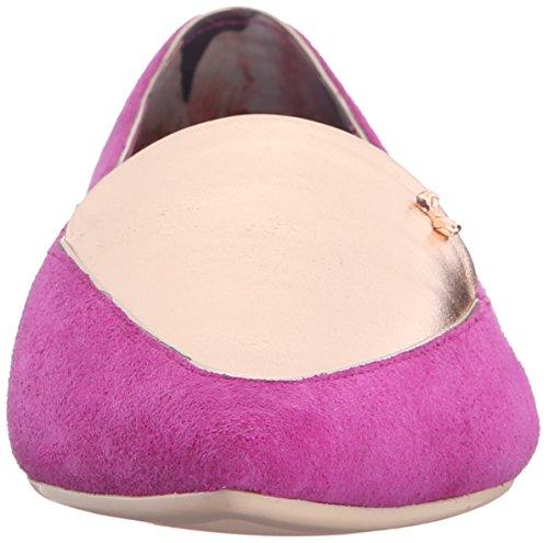 Ted Flat Women's Metallic Purple Oleshky Toe Pointed Baker 41wq47