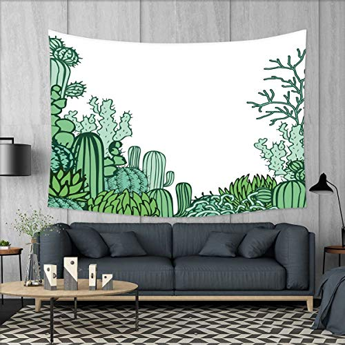 smallbeefly Cactus Decor Wall Hanging Tapestries Arizona Des