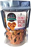 Coconut Bacon Bones, Hickory Smoked Gourmet Organic and Vegan Dog Treats - Gluten Free, Grain Free Larger Image