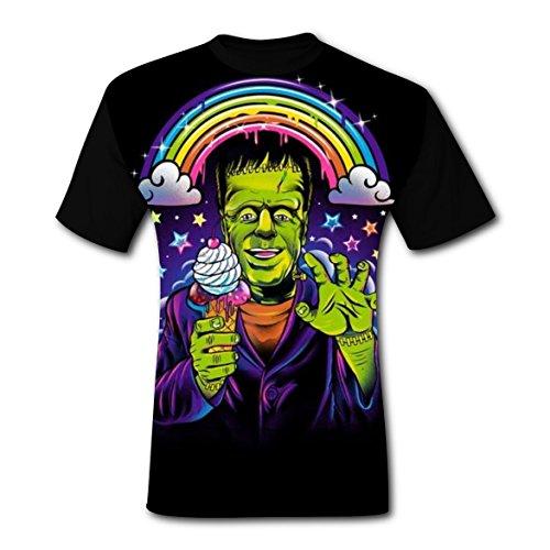 Deborahbe Lisa 90S Frank Men's T-Shirt Short Sleeve Funny Tee Shirt Sports Tshirt For Men -