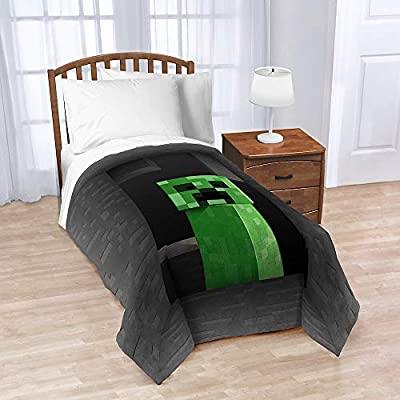 Minecraft Plush Throw Blanket Full Size - 62 in. x 90 in.