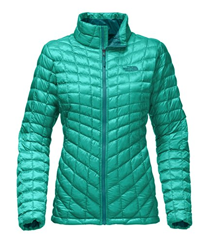 The North Face Women's Thermoball Full Zip Jacket Pool Green - M