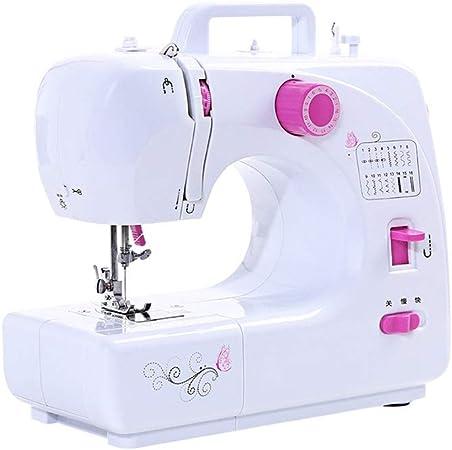 XF Máquina de coser, mini portátil, portátil, multifuncional ...