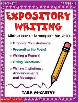 expository writing grades 4 8 tara mccarthy