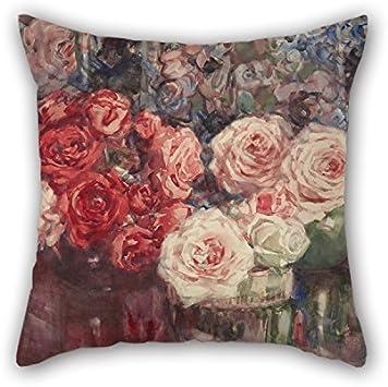 Amazon.com: uloveme Oil Painting Margaret Stoddart - Roses