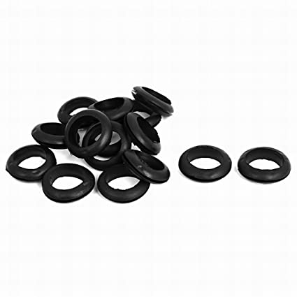 Amazon.com: Houseuse 15Pcs 20mm Inner Dia Rubber Wiring ... on