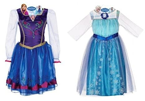 920e400eb27c Image Unavailable. Image not available for. Color: Disney Frozen Elsa and Anna  Dress ...