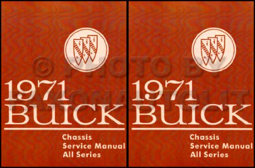 (1971 Buick Repair Shop Manual Original GS/Skylark/Riviera/LeSabre)