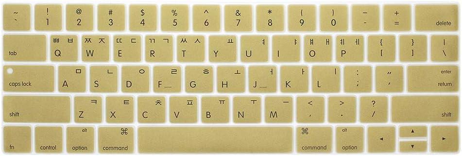Protector de Teclado Coreano Compatible con MacBook con Touch ...