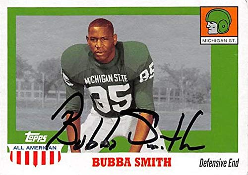 - Bubba Smith autographed Football Card (Michigan State Spartans) 2005 Topps All American #64