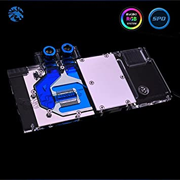 Bykski ASUS nVIDIA GTX1070-O8G-GAMING VGA Water cooling Block full-Cover cooper