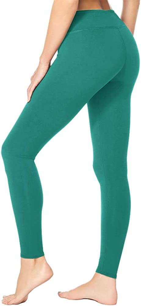 High Waist Leggings for Women-Tummy Control /& Soft Opaque Stretchy Pants for Yoga