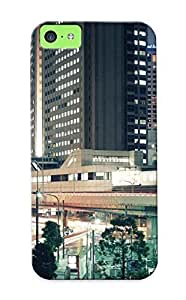 MMZ DIY PHONE CASEDesign For ipod touch 5 Premium Tpu Case Cover Tokyo At Night Protective Case