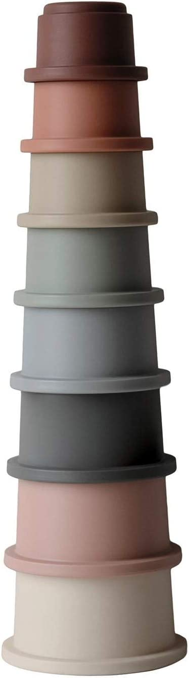 mushie Stacking Cups Toy | Made in Denmark