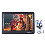photo digital album - Andoer 10 Inch Wide Screen HD LCD Digital Picture Frame Digital Album High Resolution 1280 x 600 Electronic Photo Frame with Remote Control LCD Clock Calendar MP3 MP4 Movie Player