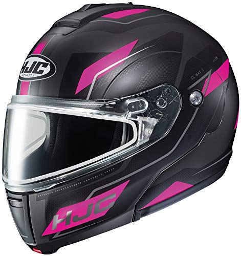 - HJC Flow CL-Max 3 Men's Snowmobile Helmet - MC-8SF / Medium