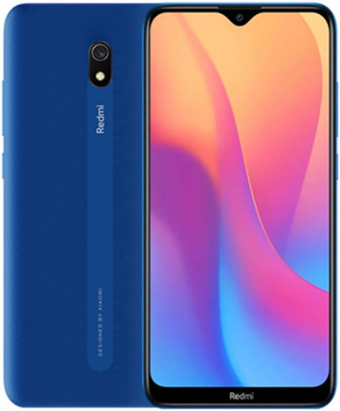 Xiaomi Redmi 8A Teléfono 2GB RAM + 32GB ROM, Pantalla de Caída de Puntos de 6.22 '',Procesador Octa-Core, Cámaras Frontales de 8MP y 12MP Versión Global (Azul)