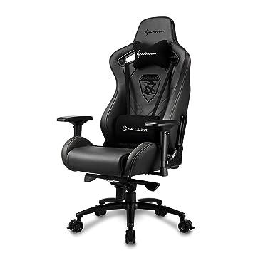 Qualité De Bureau Chaise En Cuir Sharkoon Sgs5 Haute Gamerfauteuil TKl1J3Fc