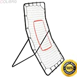 COLIBROX--New Youth Pitching Return Baseball Training Net Pitchback Rebound Throwing Sport. pitch back net walmart. pitch back net amazon. baseball bounce back net. pitching net with strike zone.