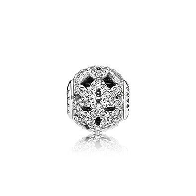 64678d6df Amazon.com: Pandora Sterling Silver Appreciation Charm 796054CZ: Jewelry