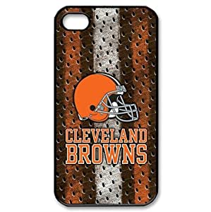 Cleveland Browns iPhone 4/4s Skin Protector made of PC plastic Browns logo