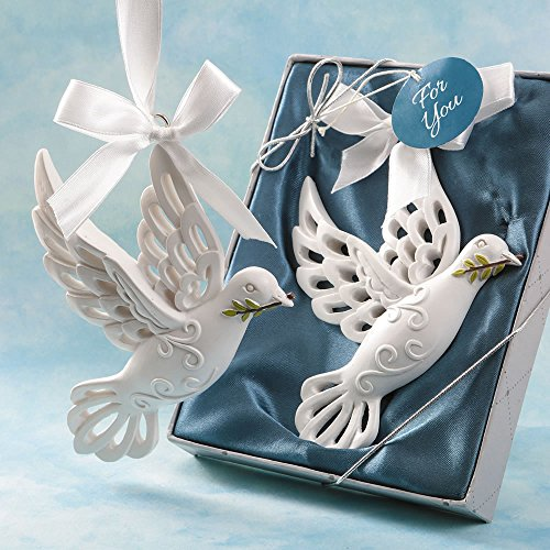 40 Dove of Peace Hanging Ornaments