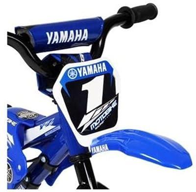 "Brand New 12"" BMX Yamaha Bike Bicycle Exercise Gym Motor Dirt Road Boys Motorcross Sports"
