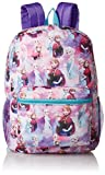 Best Frozen Backpacks - Disney Girls' Frozen All Over Print Backpack, Purple Review