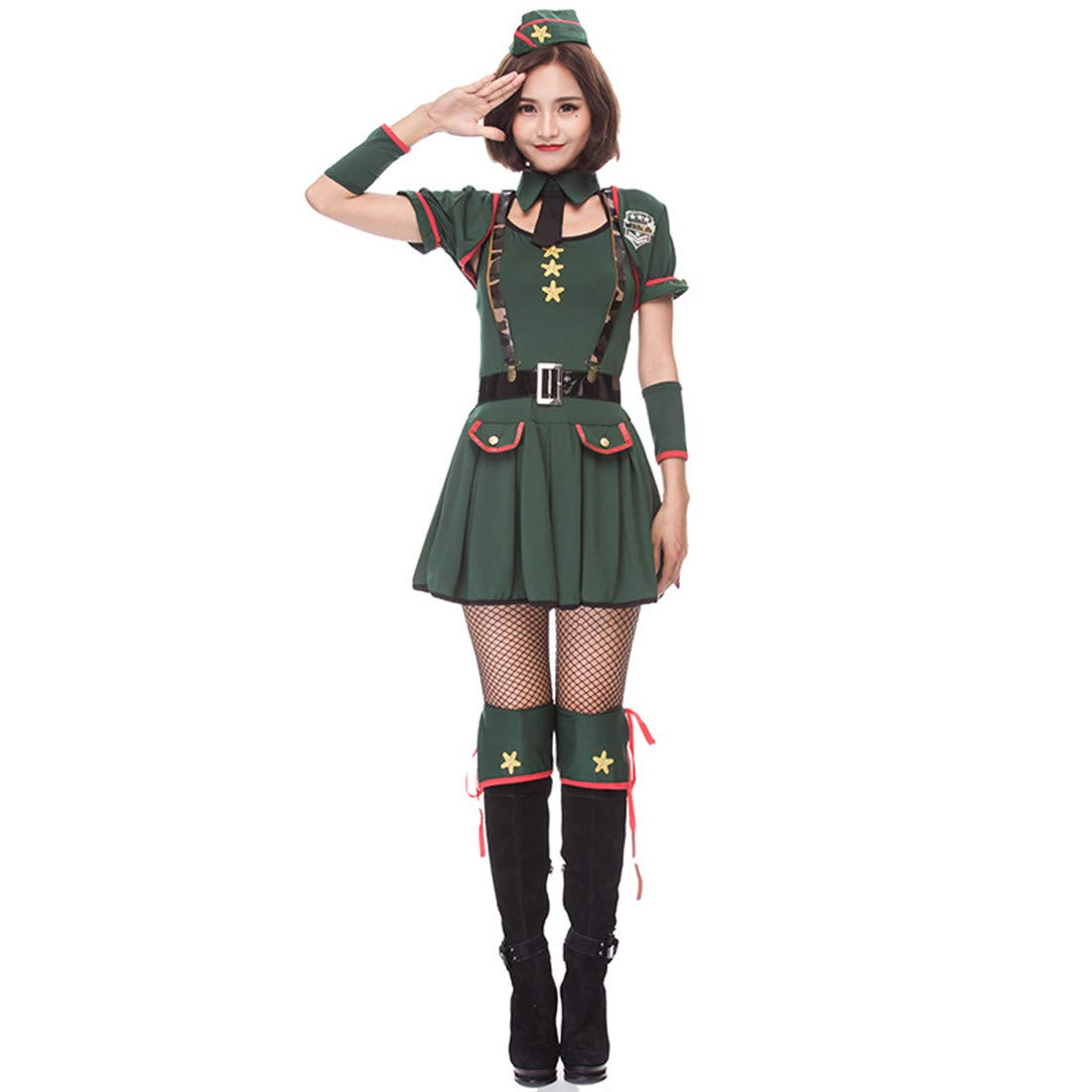 Amazon.com: MV Army Green Agent American Police Officer ...