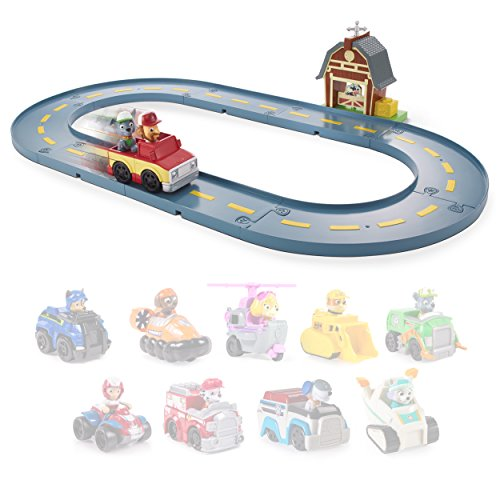 Large Product Image of Paw Patrol - Rocky's Barn Rescue Track Set