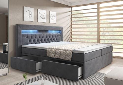 York X Weiss Hotelbett Farbe Grau Amazonde Kche U Haushalt With 180 X 200